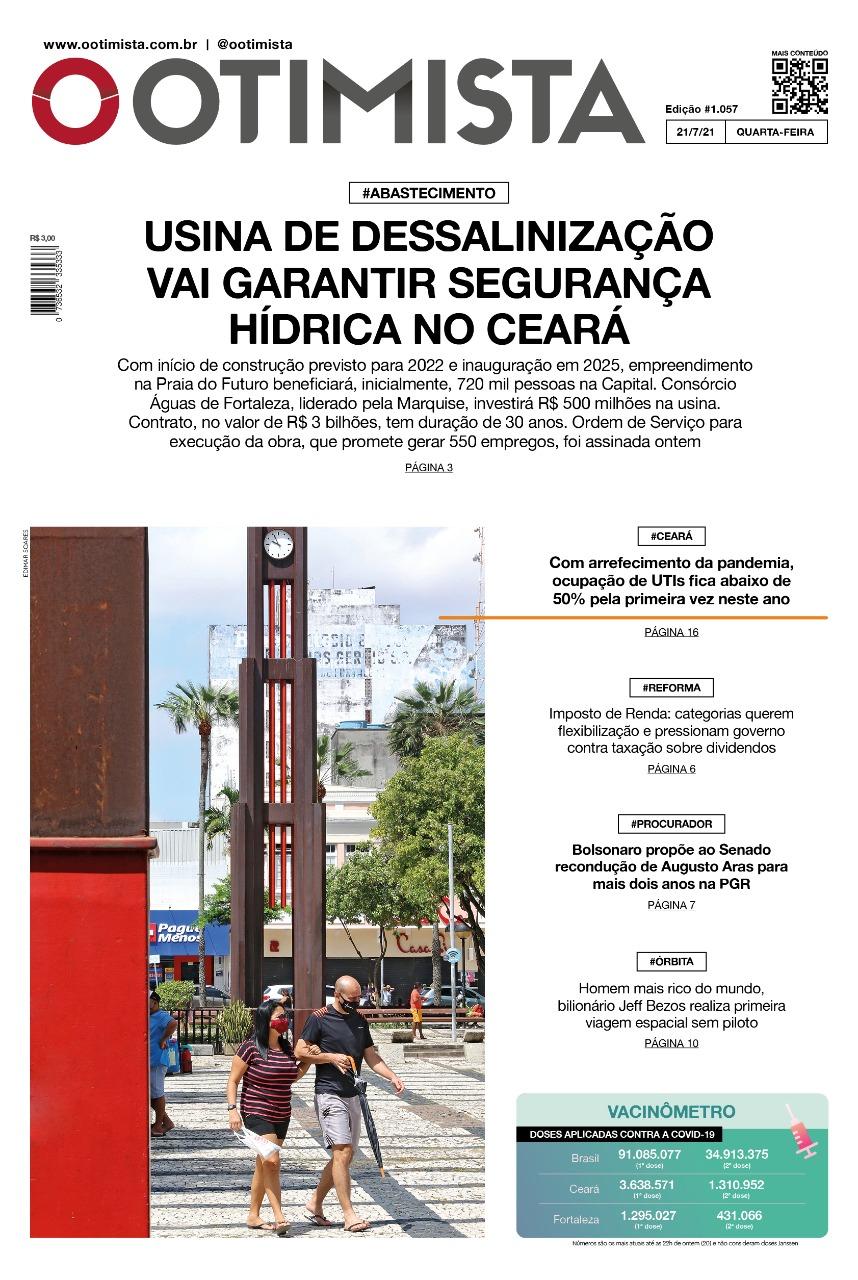 O Otimista – Edição impressa de 21/07/2021