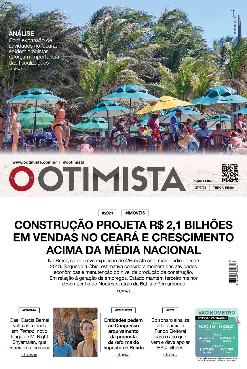 O Otimista – Edição impressa de 27/07/2021