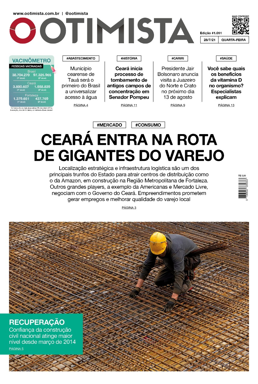 O Otimista – Edição impressa de 28/07/2021