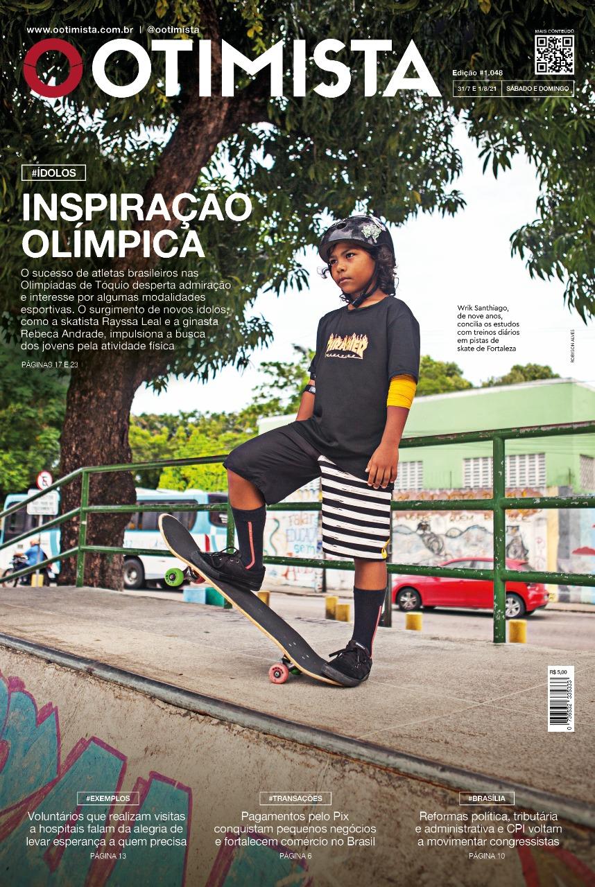 O Otimista – Edição impressa de 31 e 01/08/2021