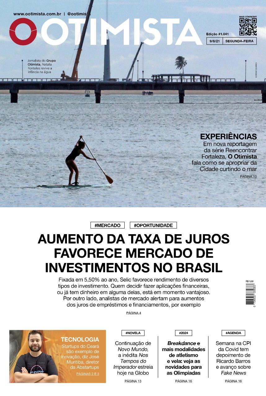 O Otimista - edição impressa de 9/8/2021