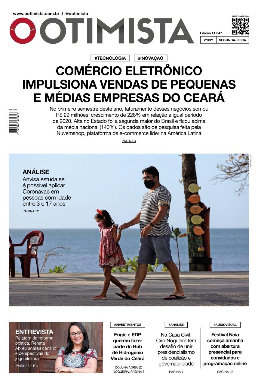 O Otimista - edição impressa de 2/8/2021