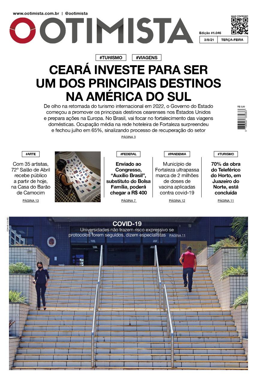 O Otimista – Edição impressa de 03/08/2021
