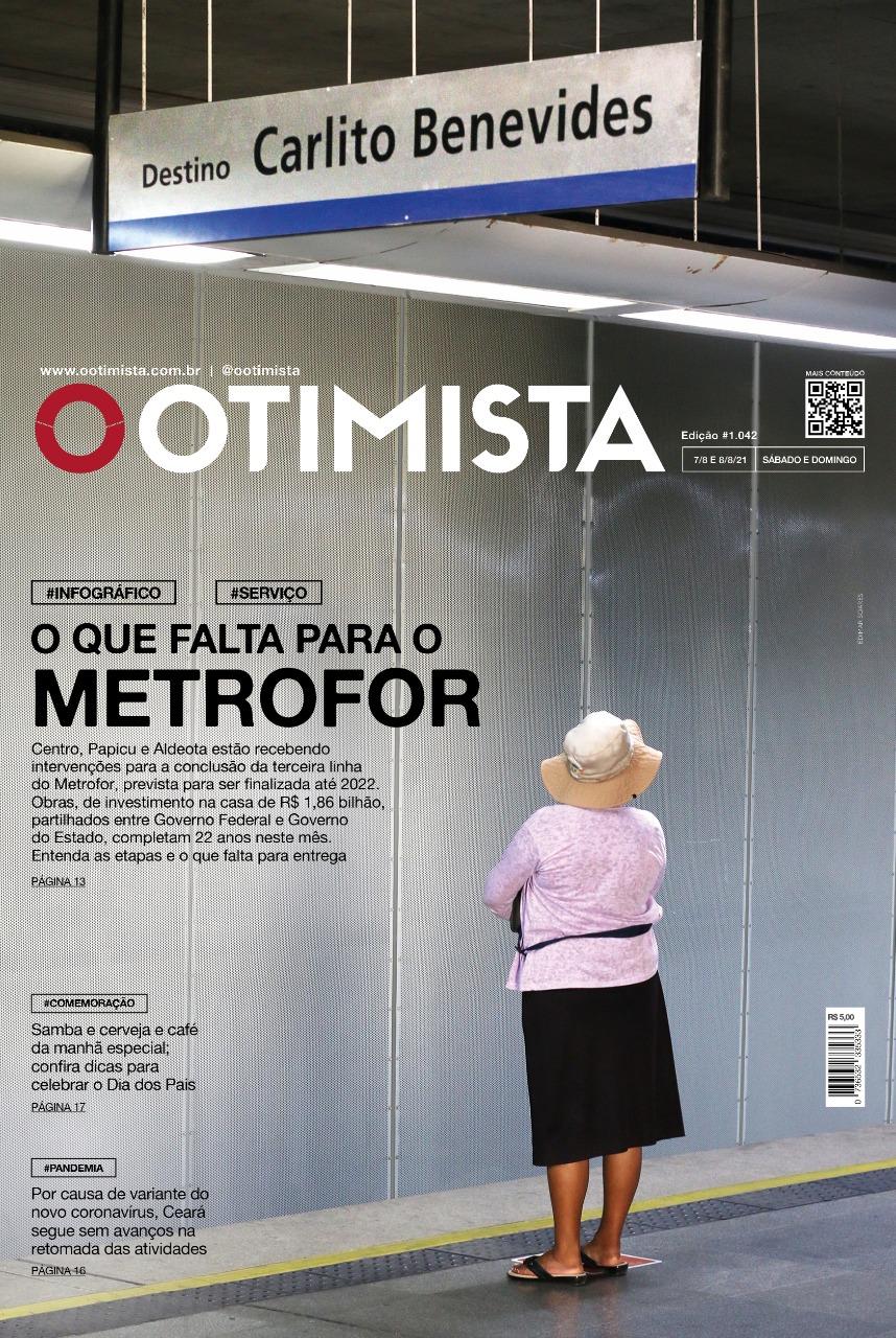 O Otimista - Edição impressa de 07 e 08/08/2021