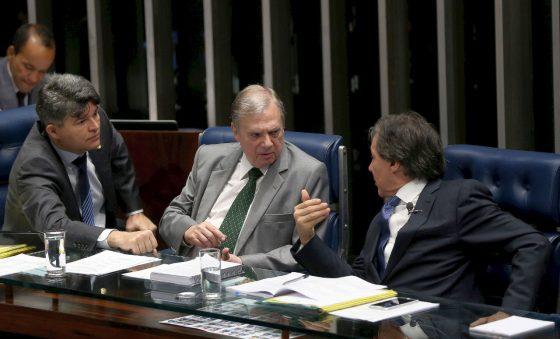 Tasso Jereissati, em 2017, foi um dos defensores do fim das coligações partidárias – Edison Silva
