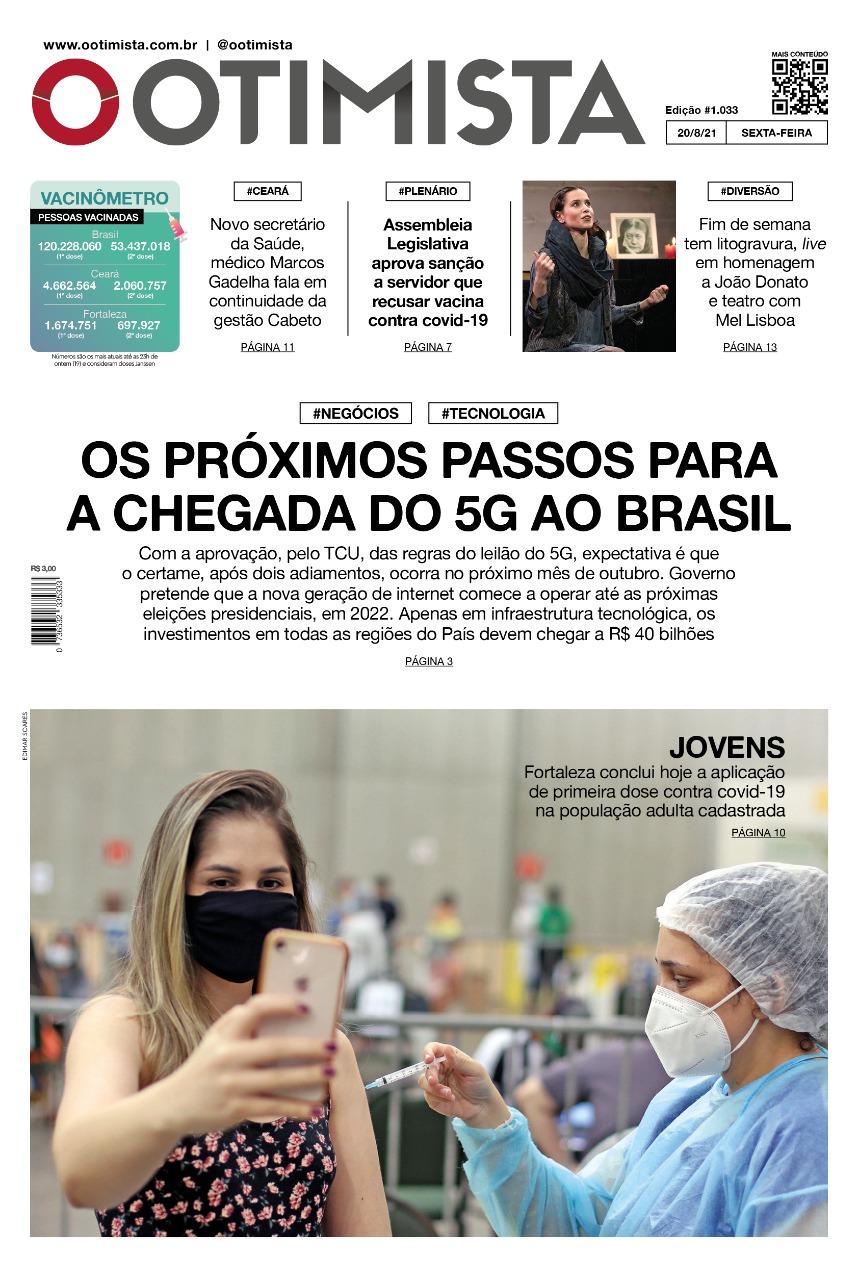 O Otimista – Edição impressa de 20/08/2021