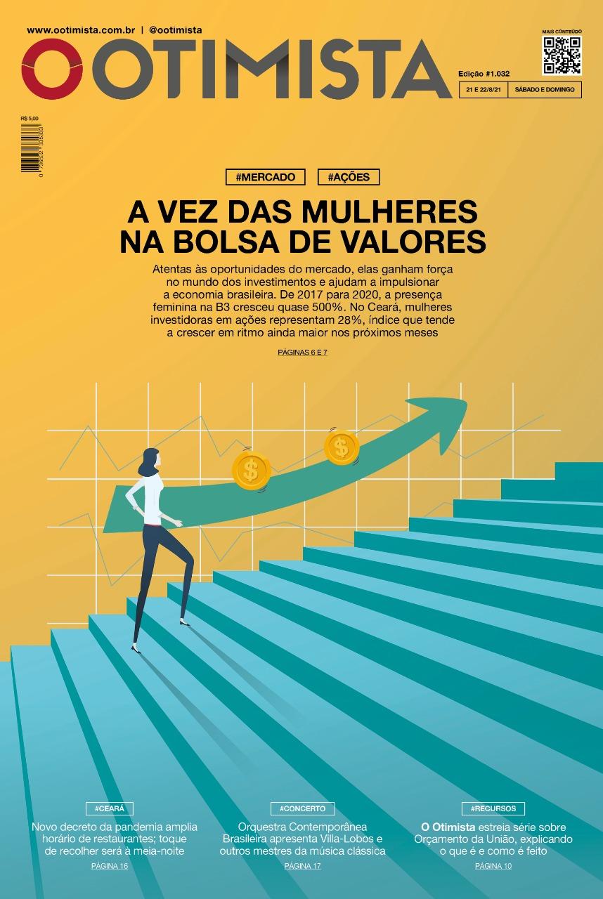 O Otimista - Edição impressa de 21 e 22/08/2021
