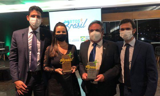 Porto do Mucuripe recebe dois prêmios no concurso Portos + Brasil