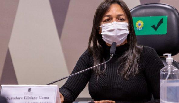 """""""Nós caminhamos de forma correta"""", afirma senadora Eliziane Gama sobre CPI da Covid"""