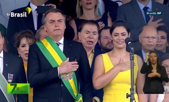 Os brasileiros do bem querem paz a harmonia