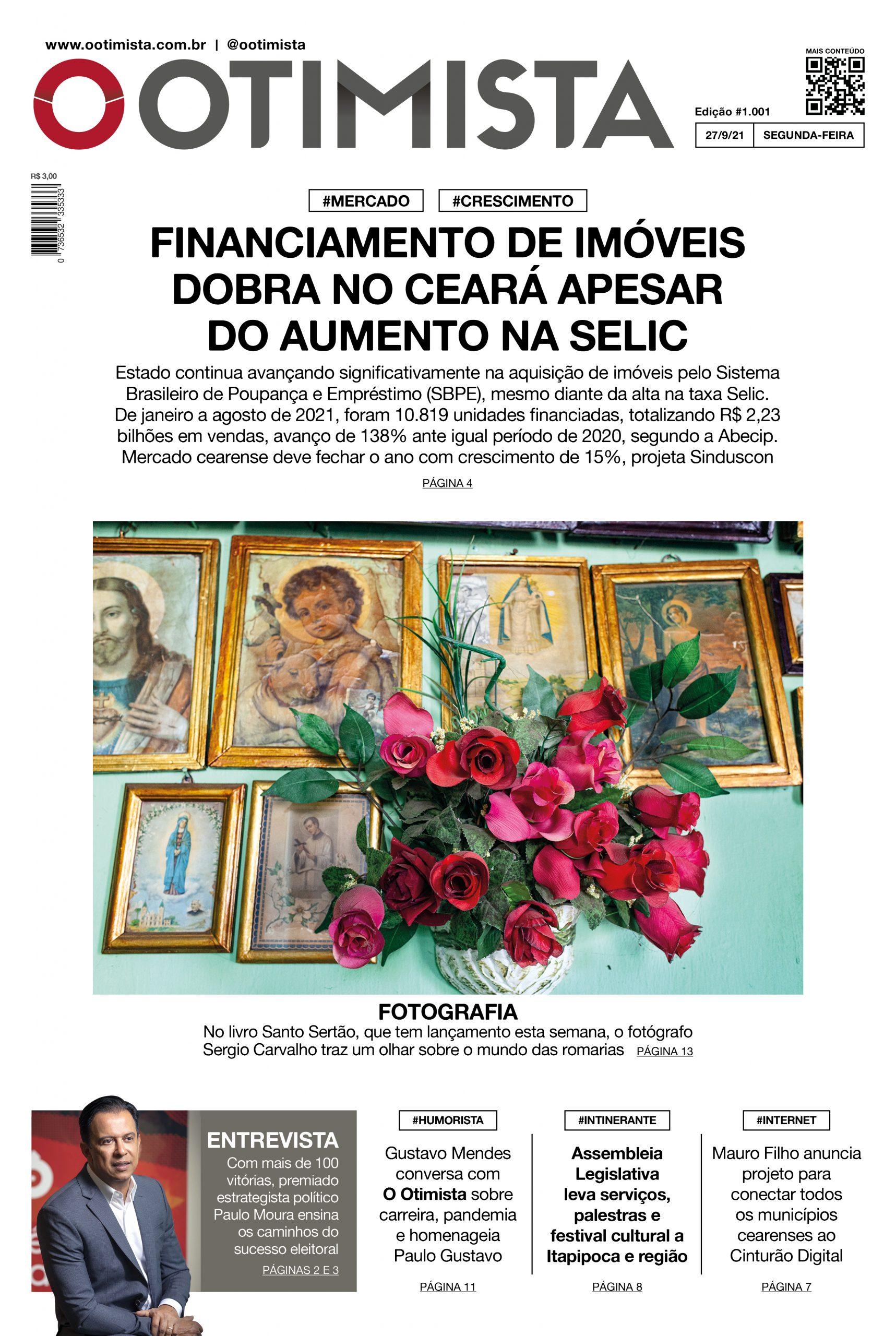 O Otimista - edição impressa de 27/9/2021