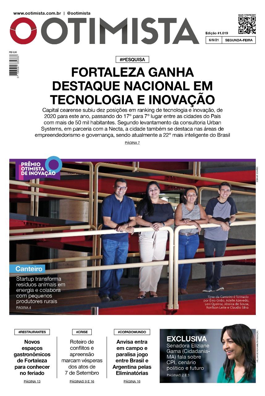 O Otimista - edição impressa de 6/9/2021