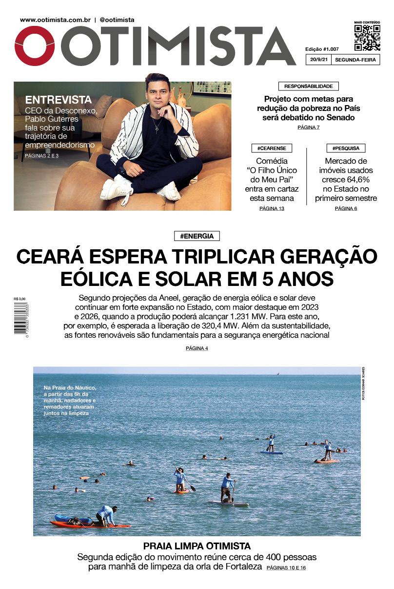 O Otimista - edição impressa de 20/9/2021