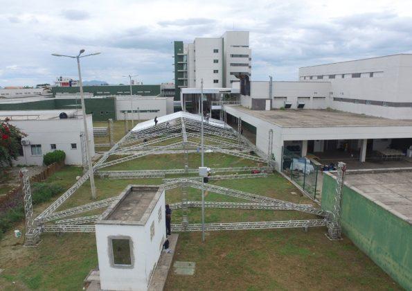 Hospitais de campanha começam a ser desmontados no Ceará