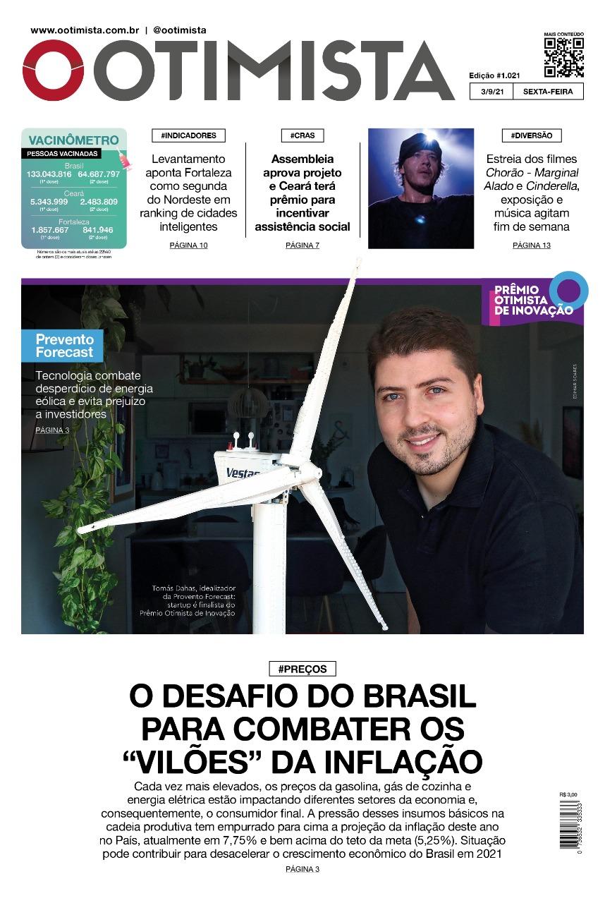 O Otimista – Edição impressa de 03/09/2021
