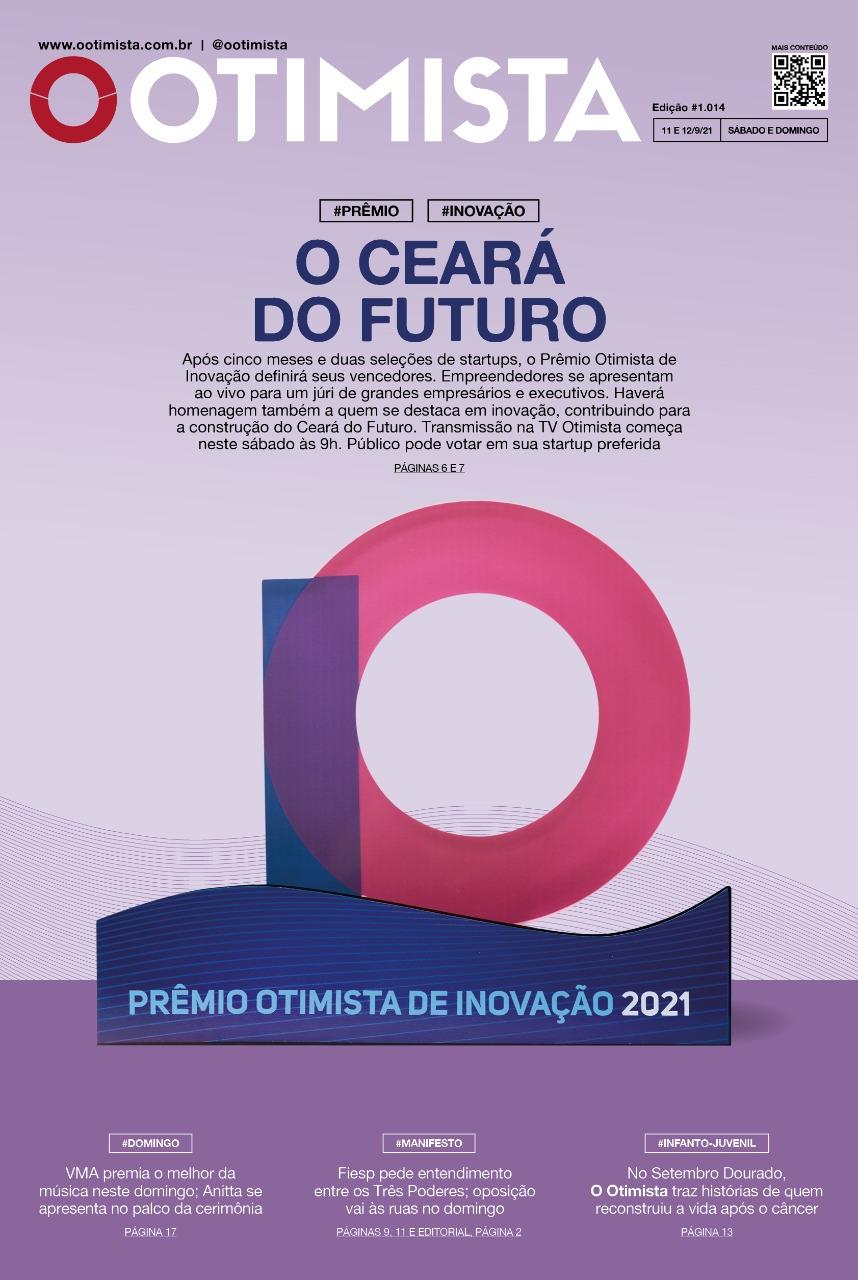 O Otimista - Edição impressa de 11 e 12/09/2021