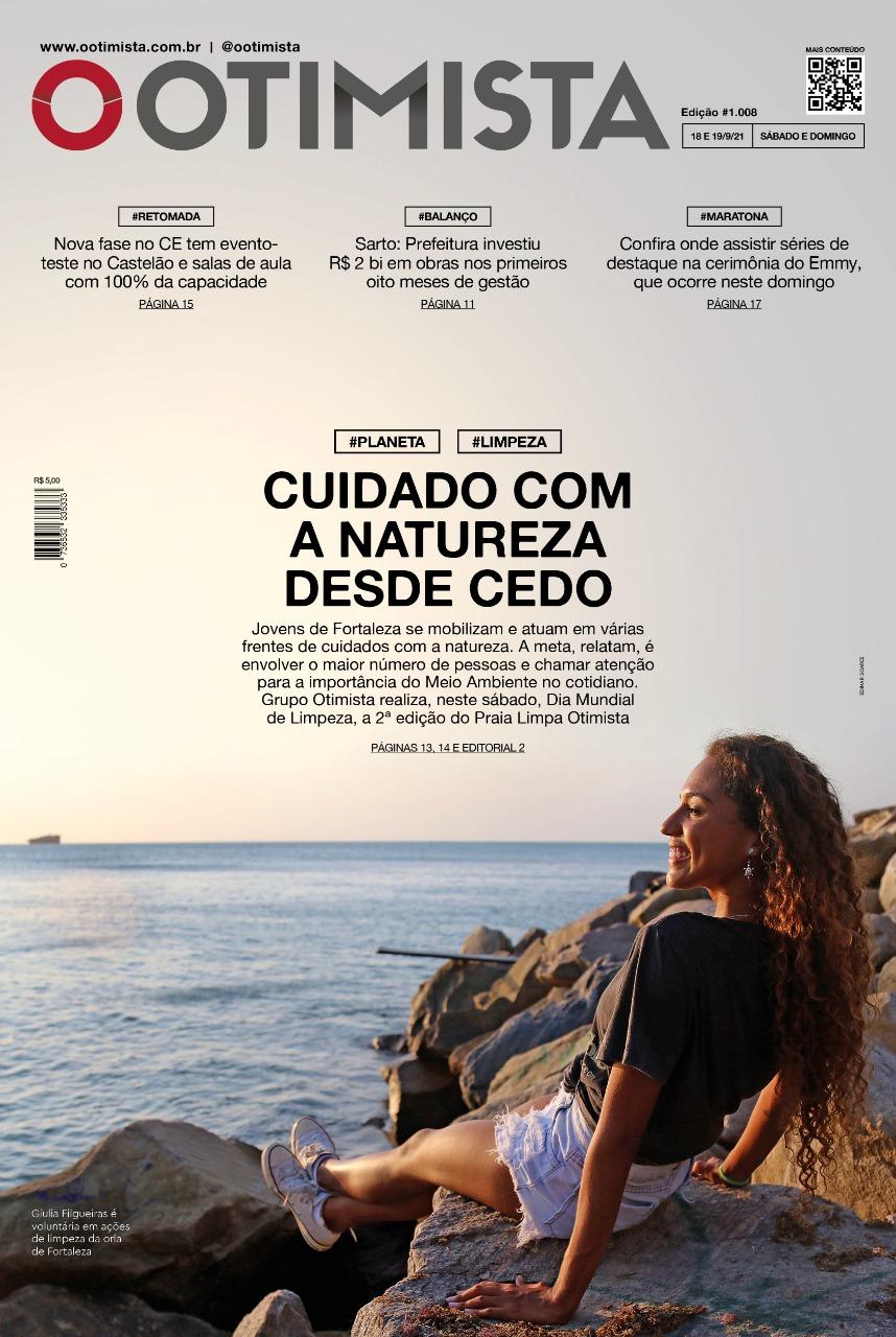 O Otimista – Edição impressa de 18 e 19/09/2021