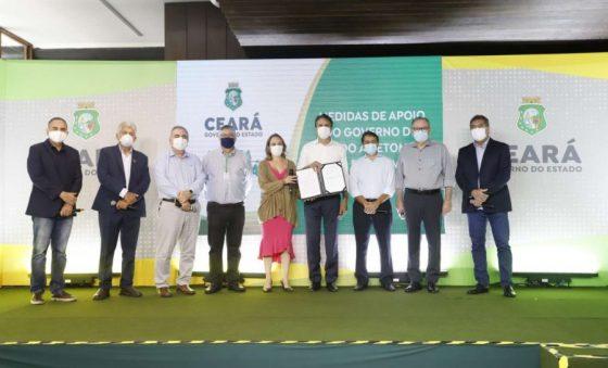 Estado anuncia Refis, operação da CearaPar e simplificação de tributação para vestuário