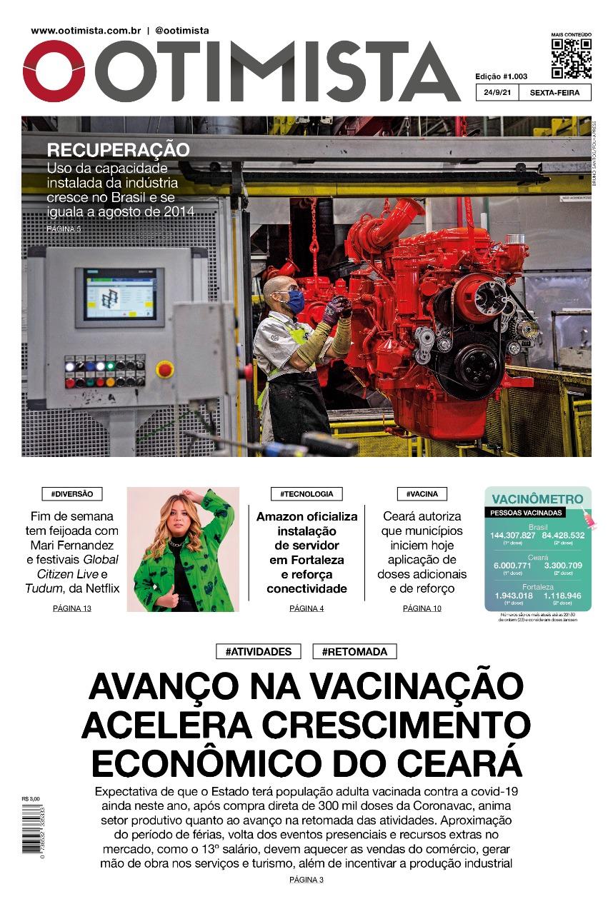 O Otimista – Edição impressa de 24/09/2021