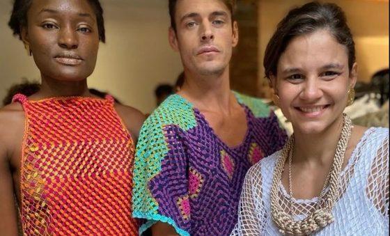 Projeto Olê Rendeiras apresenta nova coleção na Semana de Moda de Milão