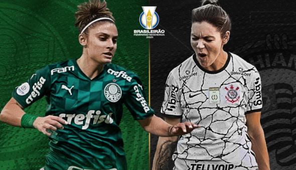 Corinthians e Palmeiras fazem dérbi histórico pelo título do Brasileiro feminino