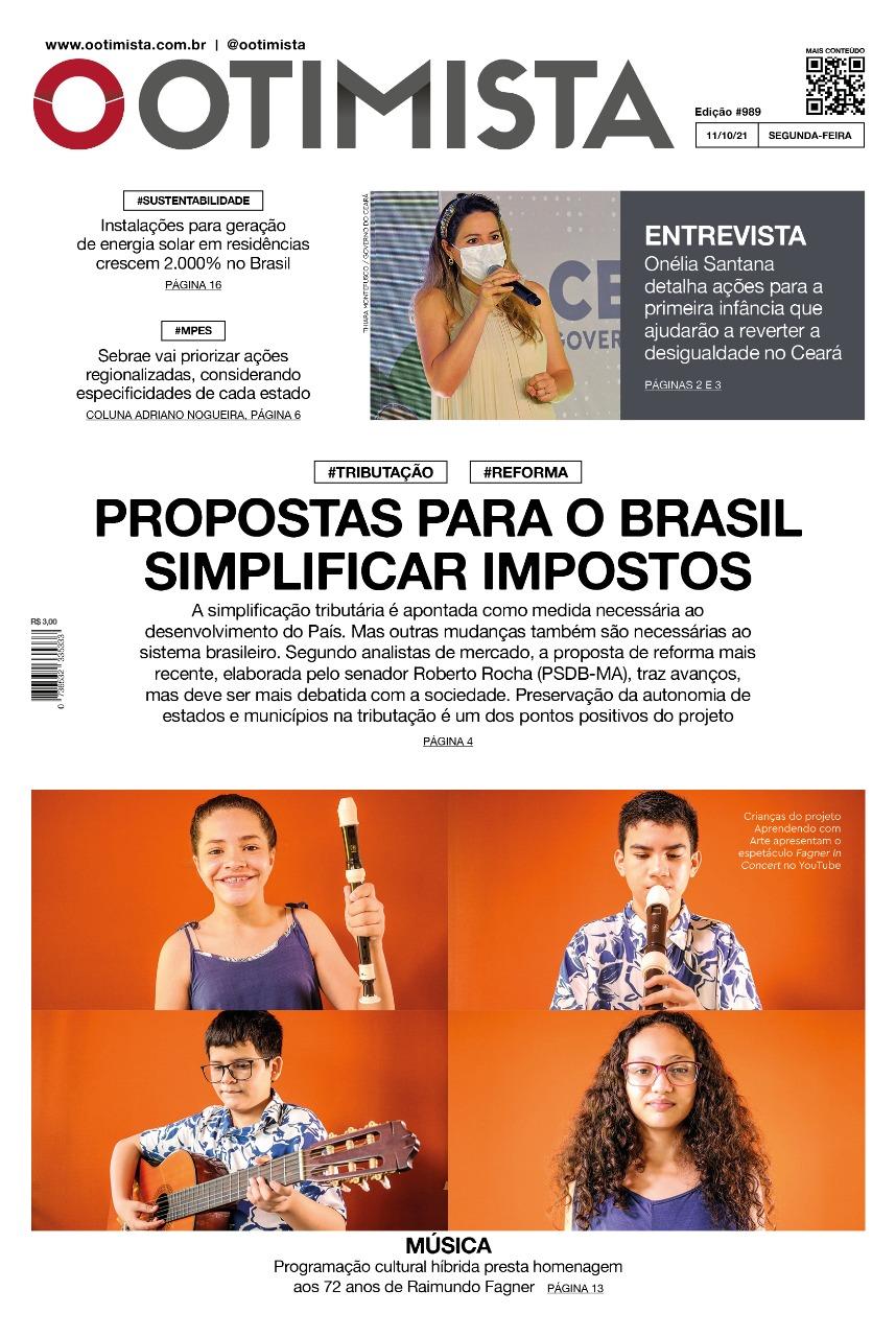 O Otimista - edição impressa de 11/10/2021