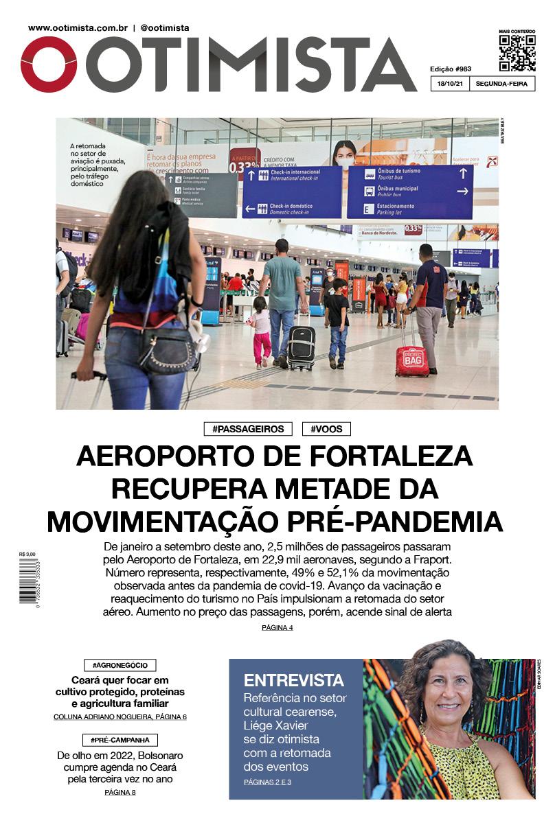 O Otimista - edição impressa de 18/10/2021