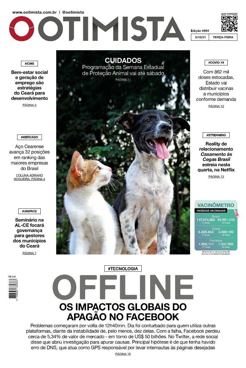 O Otimista – Edição impressa de 05/10/2021