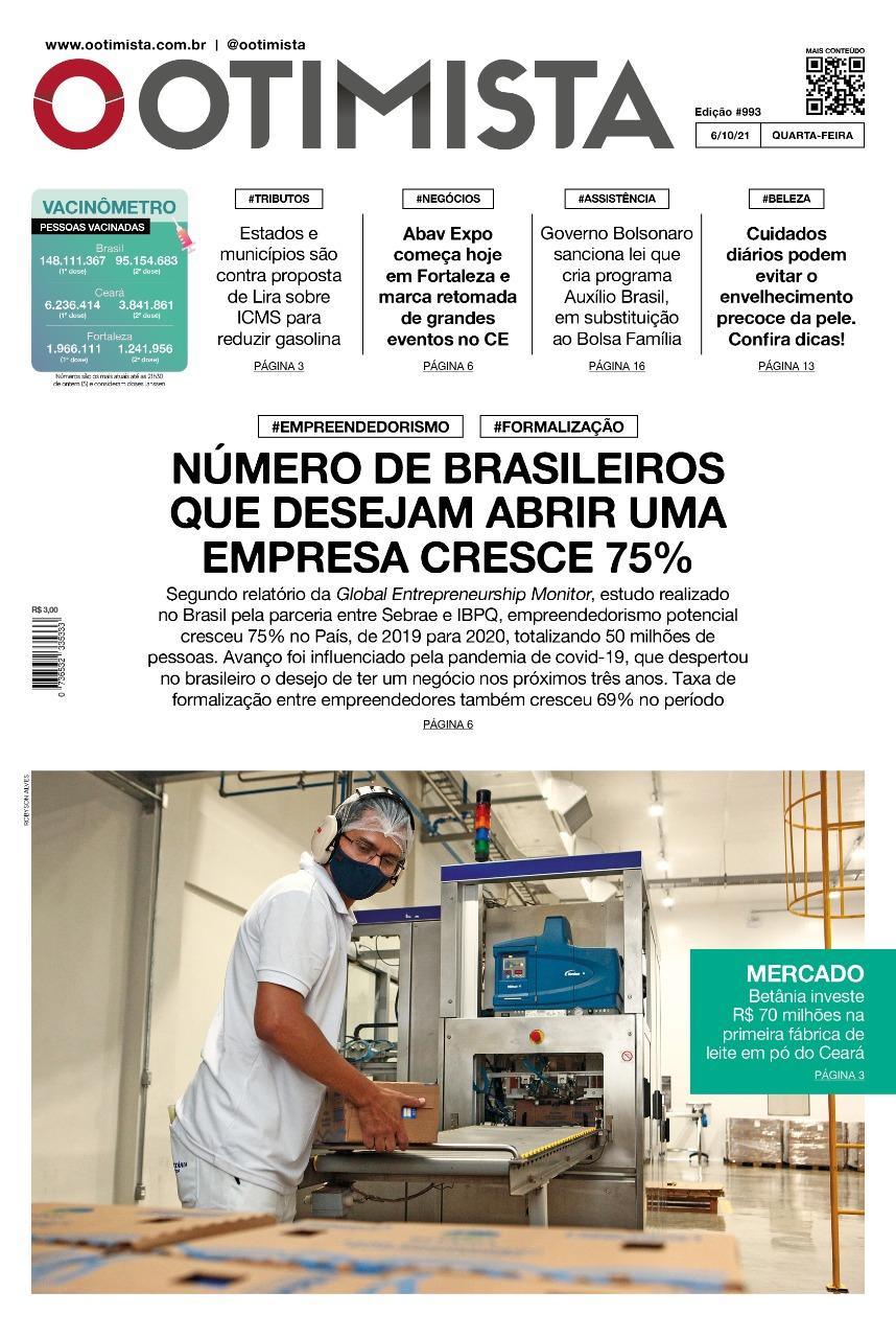 O Otimista – Edição impressa de 06/10/2021