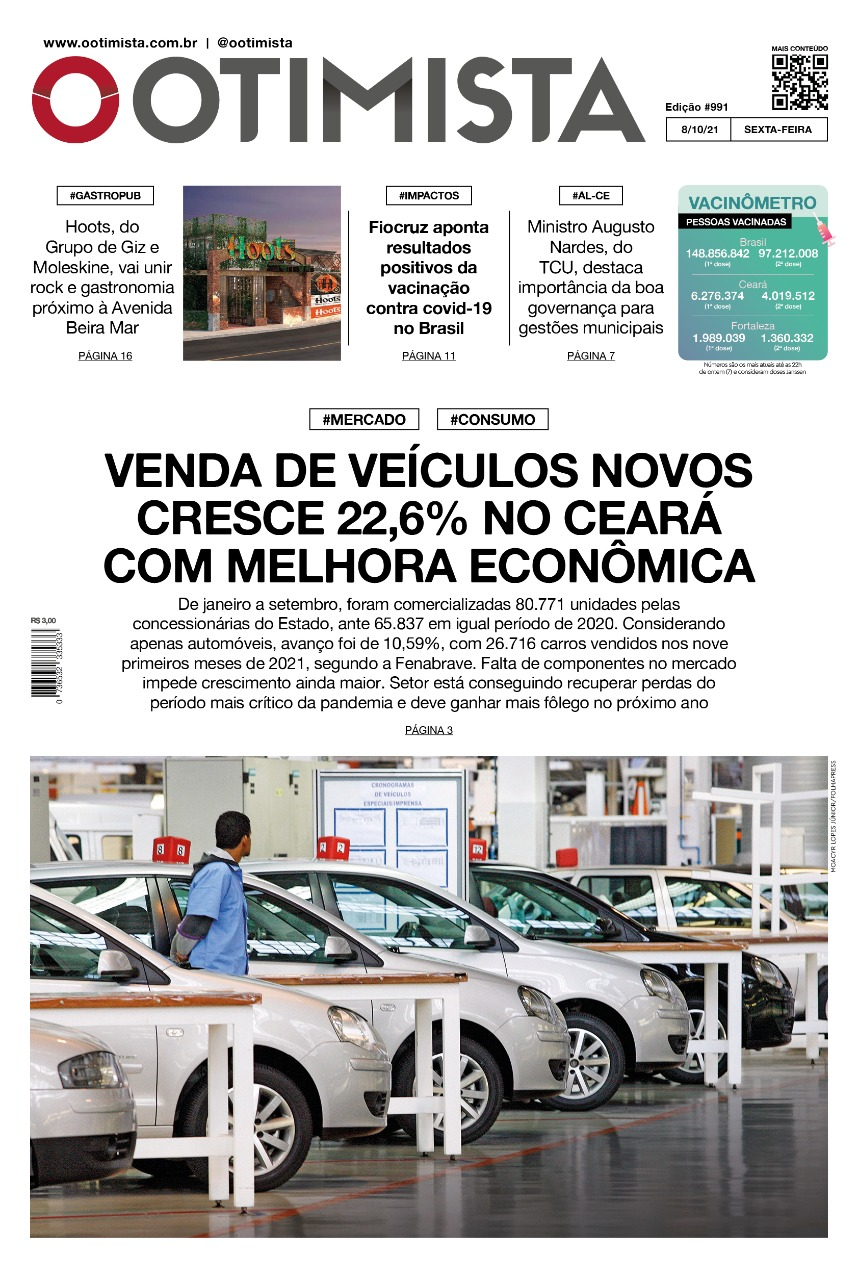 Otimista – Edição impressa de 08/10/2021