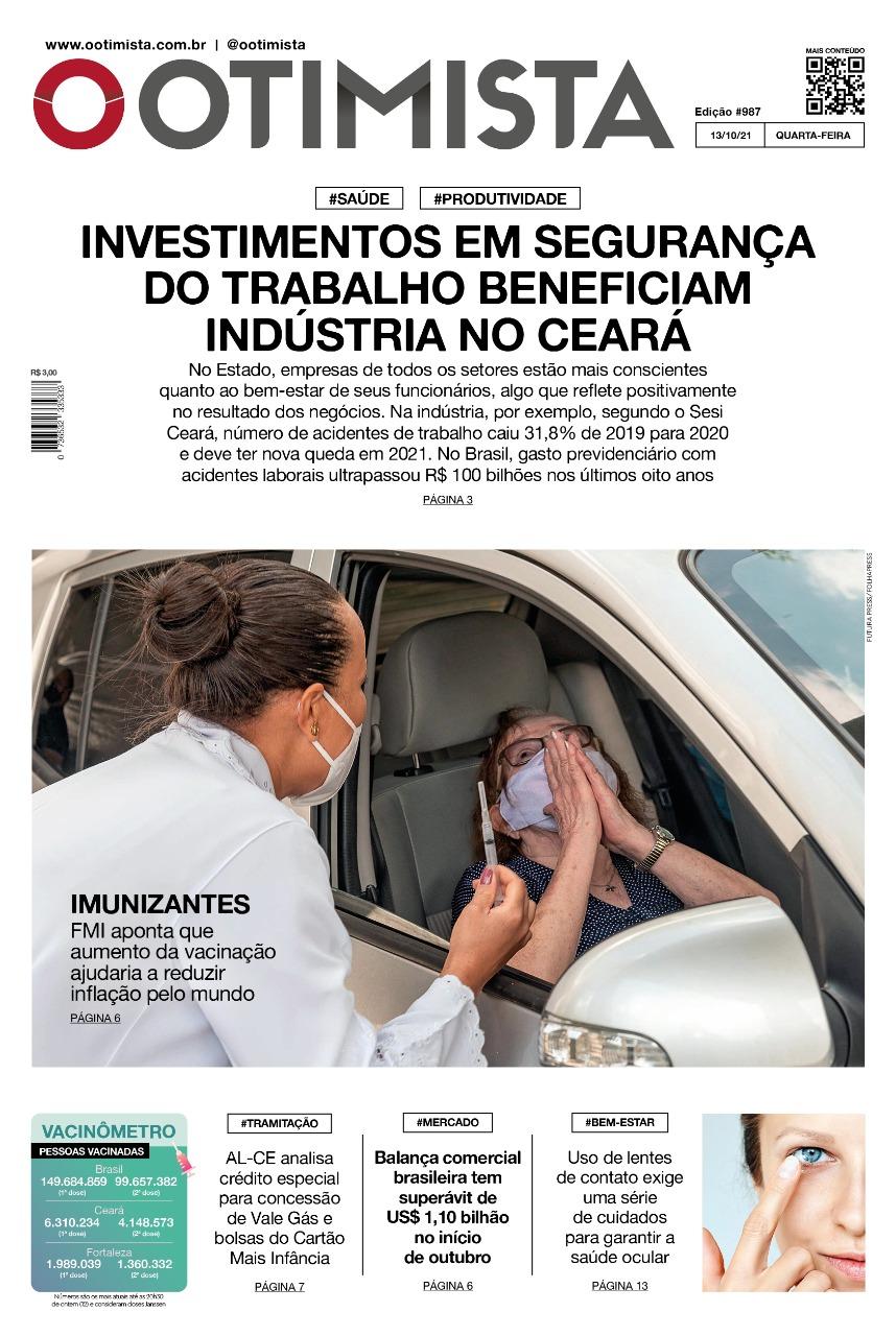 O Otimista – Edição impressa de 13/10/2021
